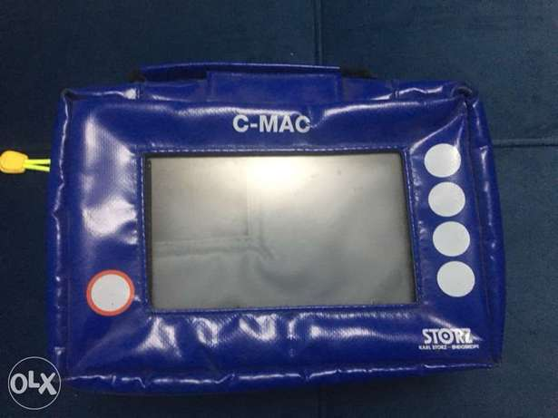 Storz bag for C-MAC , difficult intubation