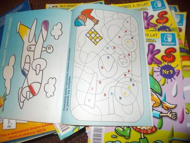 Kolorowanka Dla Dzieci 3 10 Lat Kleks Różne Numery Mielec Olxpl