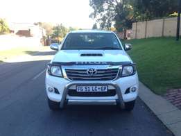2013 Toyota Hilux 3.0 Litre D4D AUTOMATIC With Canopy