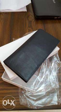 Brand new Black Leather Passport Holder