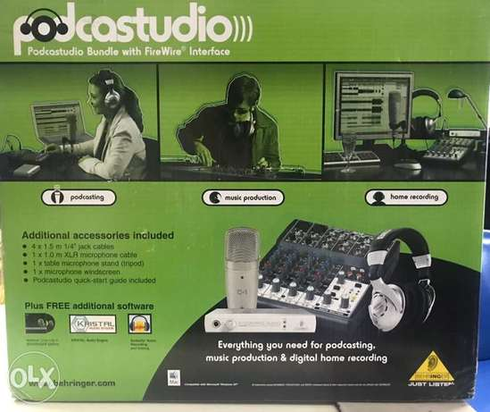 complete studio and music interface