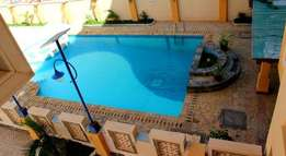 Cute 3 bedroom fully furnished apartment for rental in Nyali with pool