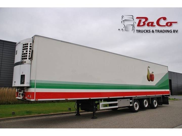 Jumbo CHEREAU 270 CM HIGH - SAF AXLES - 1 LIFT AXLE - STEERING - 2005
