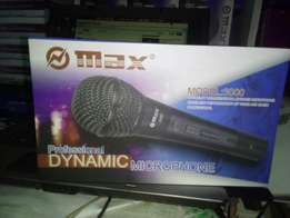 Max 3000 wired microphone