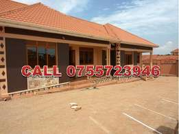 Dynamic 2 bedroom house for rent in Nabuti at 300k