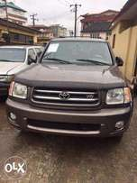 Toyota Sequoia 2003/2004 Model FOREIGN USED
