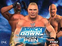 wwe game for pc and desktops at only 500bob!