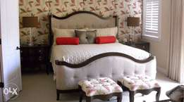 A 5 by 6 bed in this design made on order