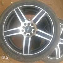 Toyota alloy wheels for sell