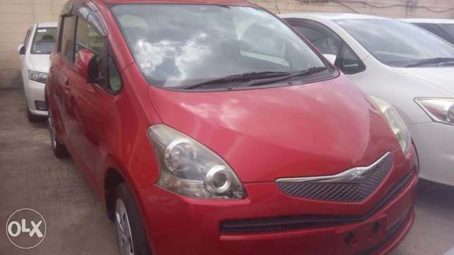 Wine Red Toyota Ractis Available for Sale Mombasa Island - image 3