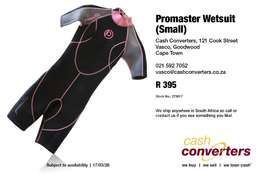 Promaster Wetsuit (Small)