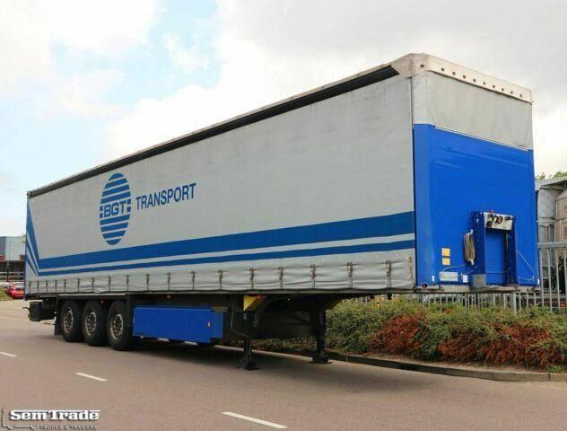 Schmitz Cargobull SCB S3T SCHUIFZEIL SCHUIFDAK LIFTDAK BORDE - 2013