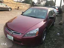 Honda accord 2005 model for fast sell