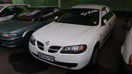 2003 nissan almera 1.6 luxury R49 900