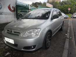 2006 Silver Toyota Runx 1.6 RX Full house for sale