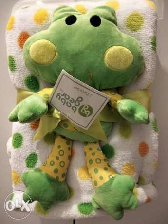 Baby blanket (cute froggy) very soft