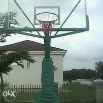 Olympic basketball stand