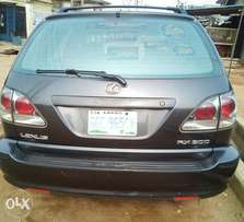 2003 Rx300 1st body full leather a.c