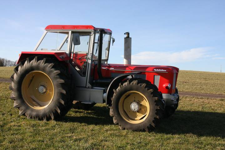 Schlüter Super 1500 TVL Oldtimer Traktor - 1973
