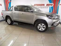 2016 toyota hilux 2.8 gd-6 rb raider double cab bakkie automatic