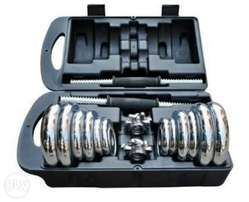 30kg Dumbbell Set with FREE GLOVE