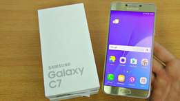 Samsung Galaxy C7 brand new in ashop,Original n Guaranteed,free delvry