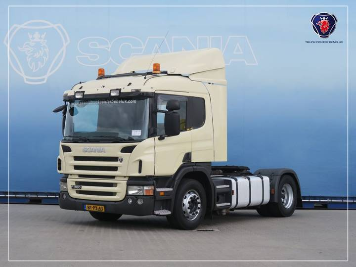 Scania P380 LA4X2MNA | PTO | Blower - 2008
