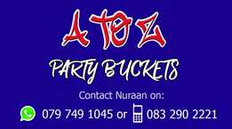 A to Z Party Buckets
