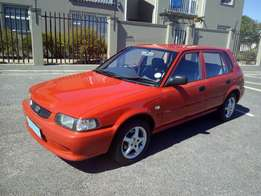 Toyota Tazz with Aircon Facelift