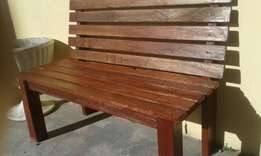 benches wooden good condition