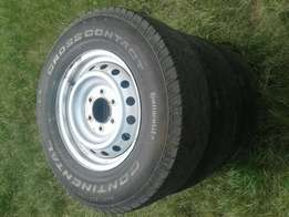 """16"""" rims with tyres for sale"""