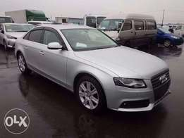 Audi A4 Year 2011 Model Automatic Transmission Silver Color