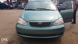 Tokunbo Toyota Corolla 2007 with Low Mileage