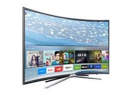 55 inch Samsung Smart Curved LED TV, UA55K6500, From my shop in CBD.