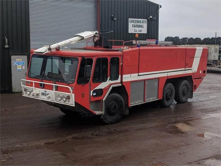 Gloster Saro Fire Tender - 1984
