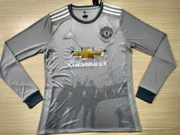 Manchester united away 2017/18 kit- long sleeve