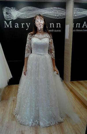 264122b7563346 Весільна сукня. Продам дуже гарну весільну сукню Луцьк - зображення 2