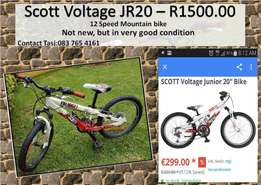 "Mountain Bike 20"" Scott Voltage"
