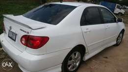 Toyota corolla sport 2006 model accident free