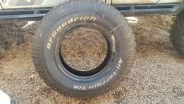 Tyre 235/85 R16 BFGoodrich. Never used.