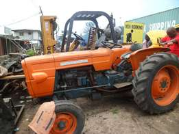 Imported Fiat Tractor With Sound Engine And Attached Farm Implement