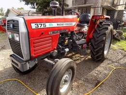 Brand new mf 375 with a free 3 disc plough.