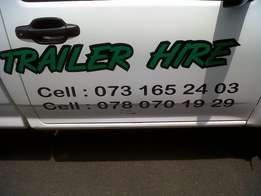 Trailer Hire And Sales All Sizes