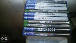 Ps4, Xbox one games