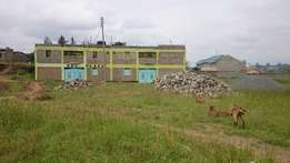 Ruiru 50x100 commercial plot for sale, materials on site
