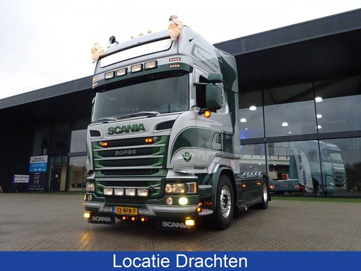 Scania R 520 Retarder + Hydrauliek - 2014