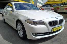 2011 BMW 520D Auto (F10) with nav, 109000km FSH, R239,995