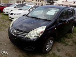 Nissan note black color Automatic transmission New import new plate