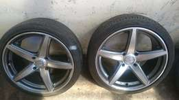 "17"" A-line Mags& Tyres 114/4 PCD"