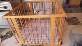 baby bed or cage